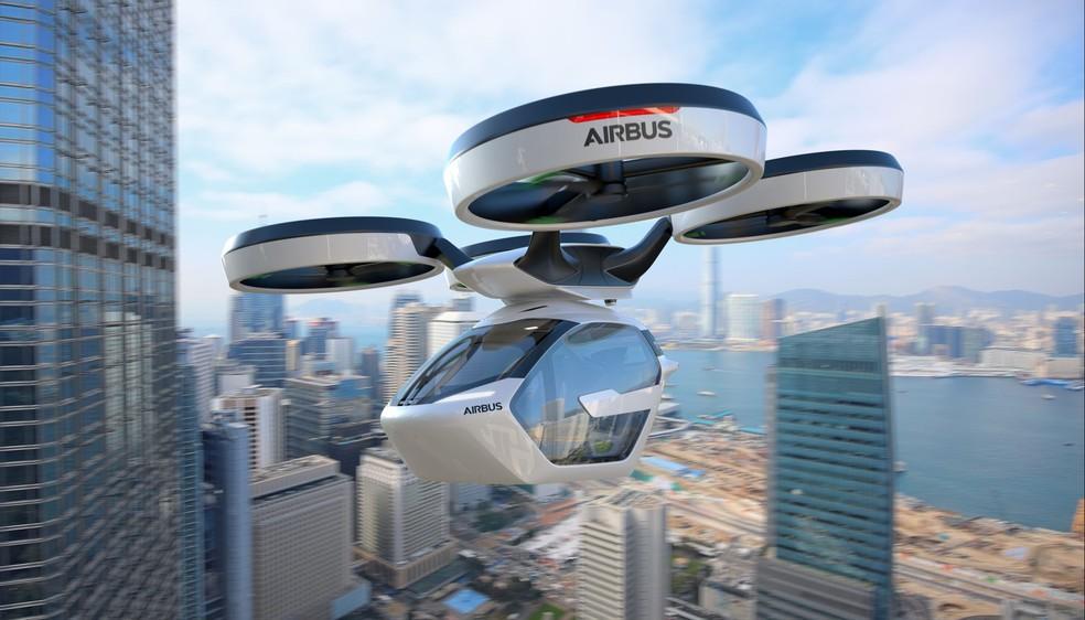 Airbus e Audi estão autorizadas pelo governo alemão a iniciar testes com carros voadores (Foto: Divulgação/Airbus)