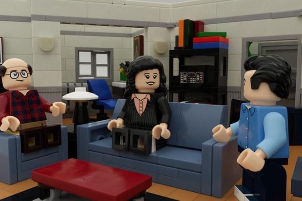LEGO aprova ideia de fã e criará coleção inspirada na série Seinfield (Foto: Divulgação)
