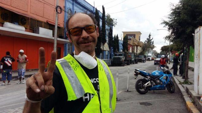 O voluntário que resgatou centenas de vítimas dos dois terremotos mais fortes da história recente do México