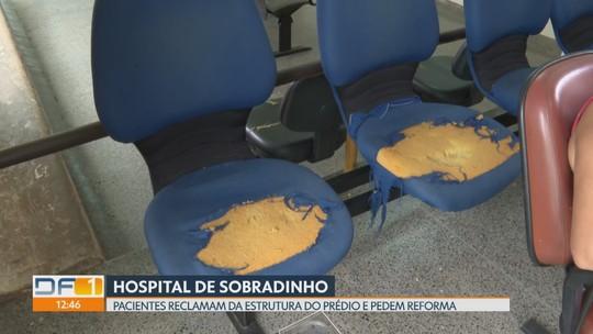 Pacientes reclamam de estrutura precária no Hospital de Sobradinho