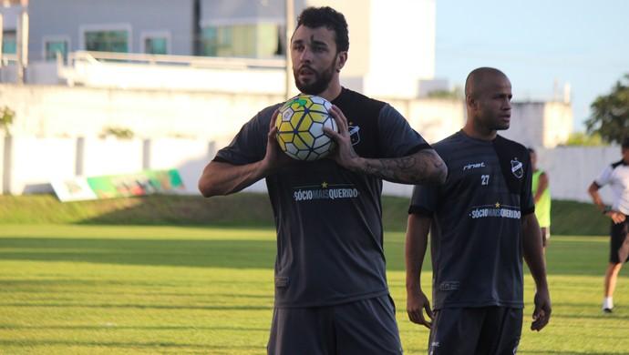 Caio Mancha atacante do ABC (Foto: Divulgação/ABC)
