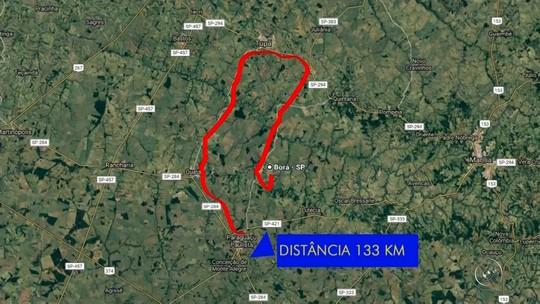 Cratera em rodovia aumenta percurso em mais de 100 quilômetros