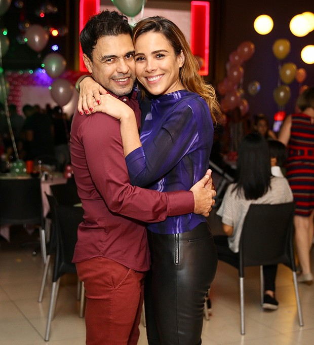 Wanessa Camargo com Zezé Di Camargo (Foto: Manuela Scarpa/Brazil News)