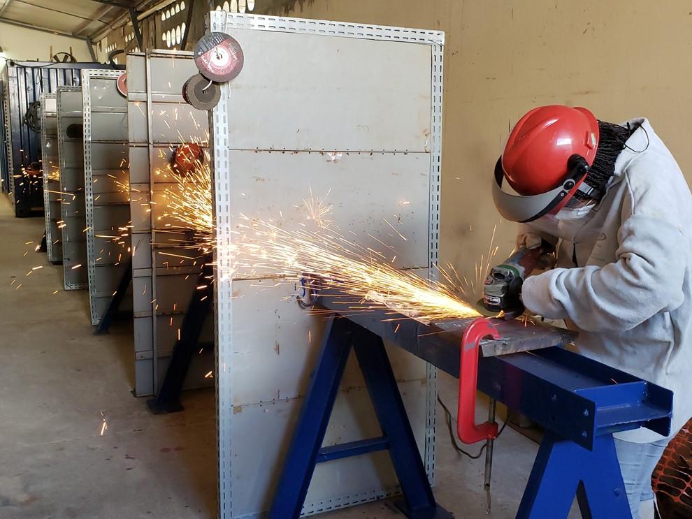 Centro de treinamento da ENESA (Foto: Divulgação)