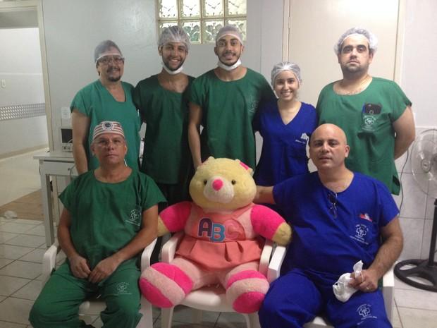 Mutirão Pediátrico está sendo realizada pela quarta vez no Hospital Santa Marcelina (Foto: Hosana Morais/G1)
