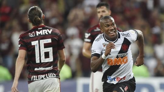 Veja os gols do jogaço no Maracanã:  Flamengo 4 x 4 Vasco
