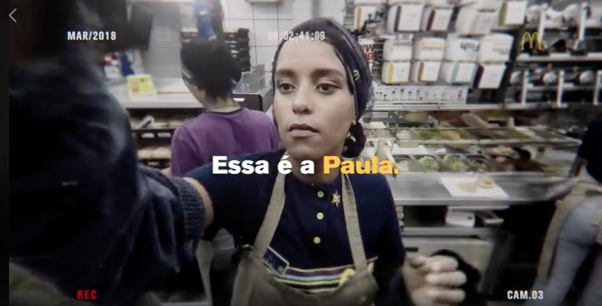 Vídeo para campanha pelo Dia Internacional da Mulher feito pelo McDonald's (Foto: Reprodução)