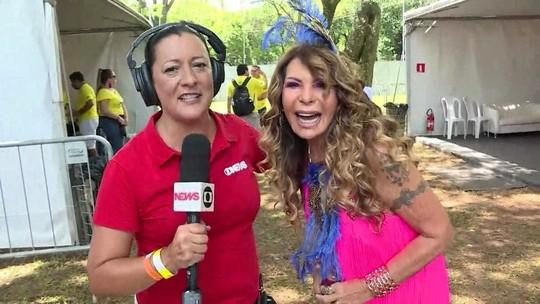 Elba Ramalho celebra o pré-carnaval de São Paulo: 'É a cidade cosmopolita'