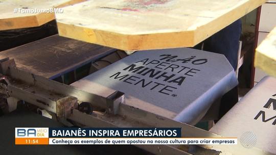 Gírias e expressões baianas inspiram empreendedores e dão origem a empresas