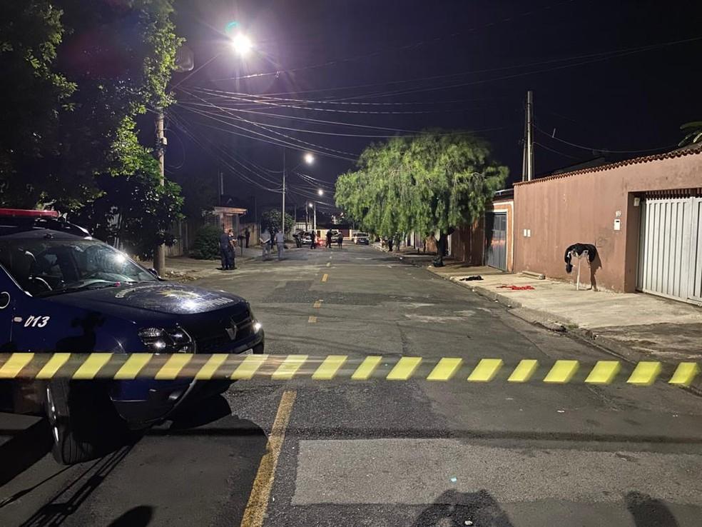 Guarda municipal foi alvo de tentativa de assalto em Hortolândia — Foto: Daniel Mafra/EPTV