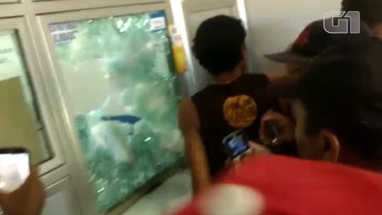 Criminosos fazem reféns durante assalto a lotérica no Piauí; vídeo mostra destruição