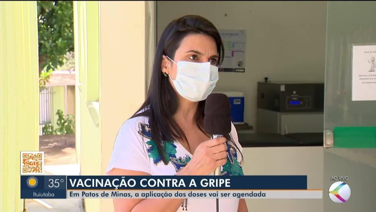 Em Patos de Minas, vacinação contra a gripe será agendada