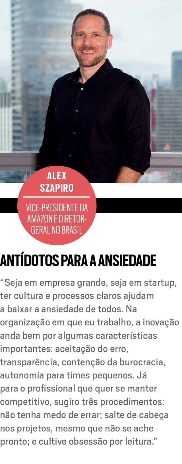 Alex Szapiro, vice-presidente da Amazon e diretor- geral no Brasil (Foto: Divulgação)