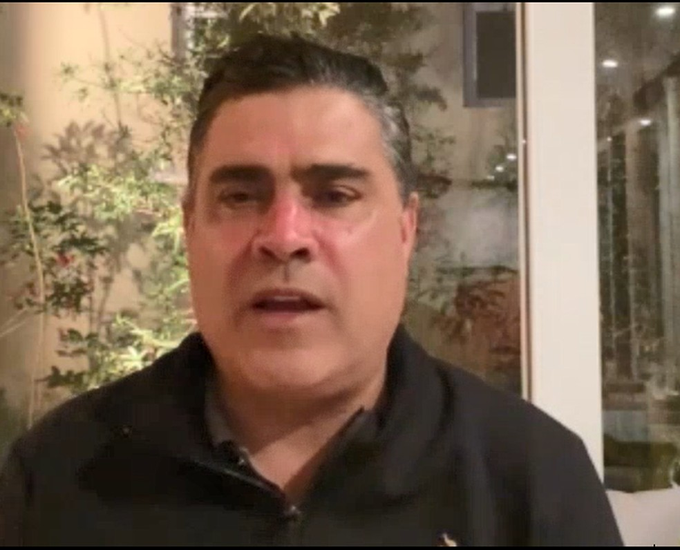 Sergio Sette Câmara, presidente do Atlético-MG — Foto: Reprodução/Globo