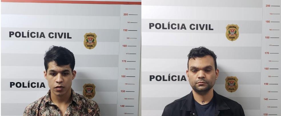 Dupla presa por filmar cenas de sexo e para depois extorquia vítimas  — Foto: Polícia Civil do DF/Divulgação