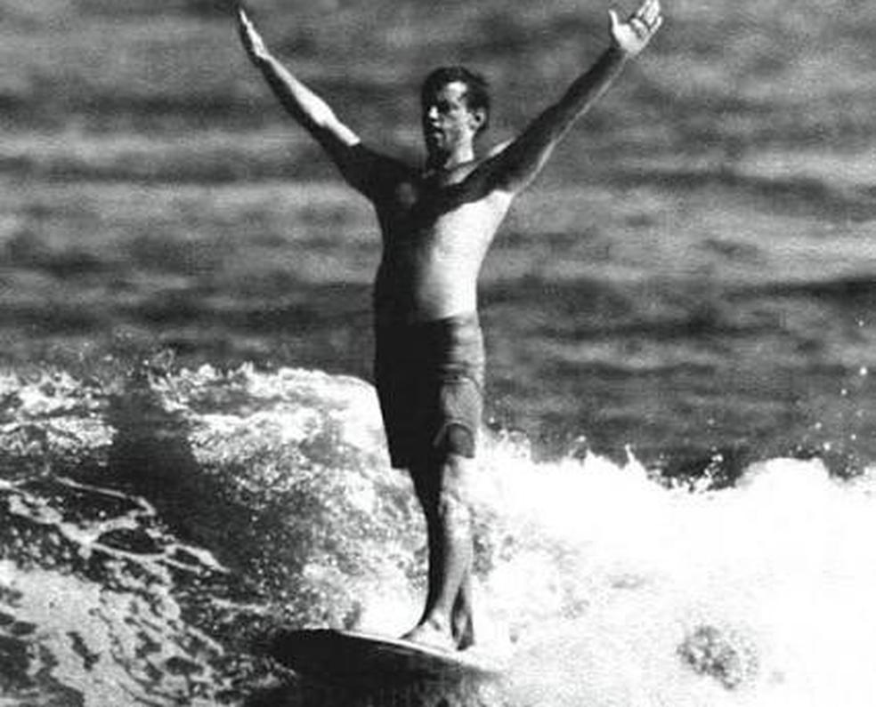 George Downing foi pioneiro nas ondas gigantes (Foto: Reprodução)