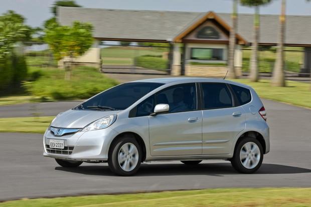 Honda Fit (Foto: Divulgação)