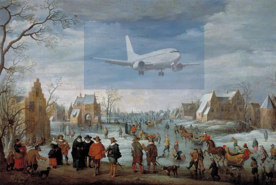 Joost Cornelisz Droochsloot - Paisagem invernal