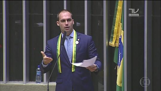 Barroso envia para Justiça do DF denúncia contra Eduardo Bolsonaro