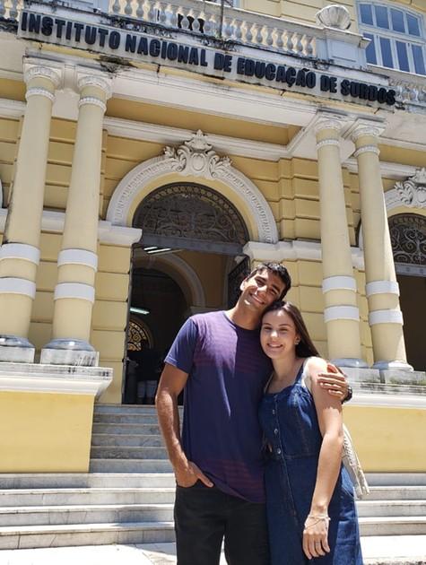 Hugo Moura e Giovana Rispolli (Foto: Fernando Nipper)