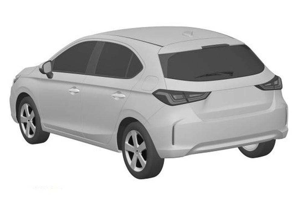 Honda City Hatch — Foto: Reprodução/INPI
