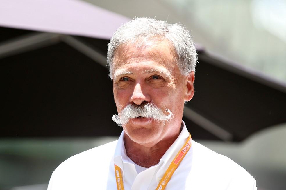 Chase Carey é o atual CEO da Fórmula 1 — Foto: Getty Images