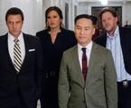 Raúl Esparza, Mariska Hargitay, BD Wong (o infalível psiquiatra) e Donal Logue  | Divulgação