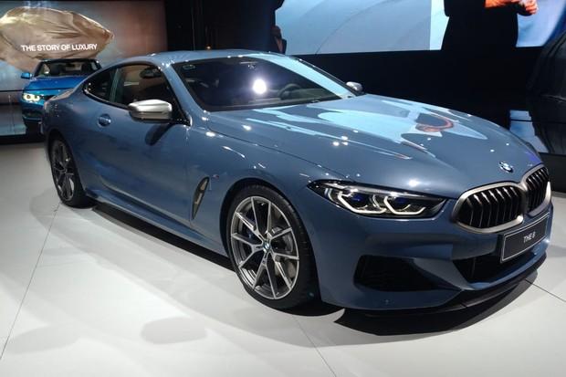BMW Série 8 resgatou a antiga denominação com muito luxo (Foto: Alexandre Izo/Autoesporte)