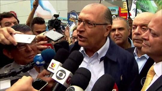 Alckmin diz ser contra aumentar carga tributária e recriar a CPMF