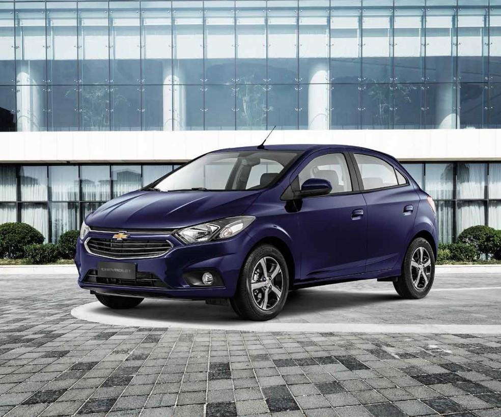Chevrolet Onix foi o automóvel novo mais financiado do país em 2017 (Foto: Divulgação)