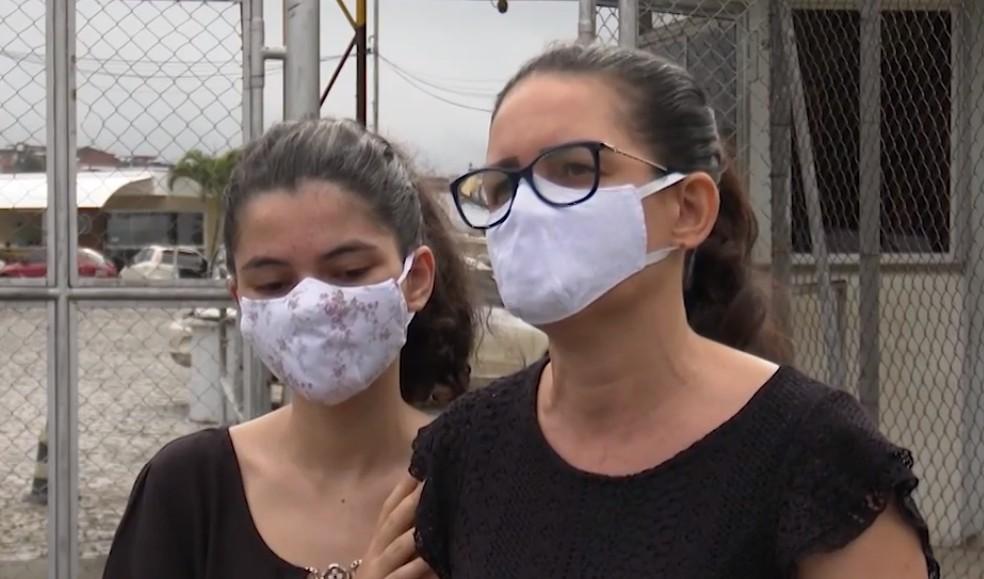 Família questiona procedimento dos médicos responsáveis pela transferência — Foto: Reprodução/TV Santa Cruz