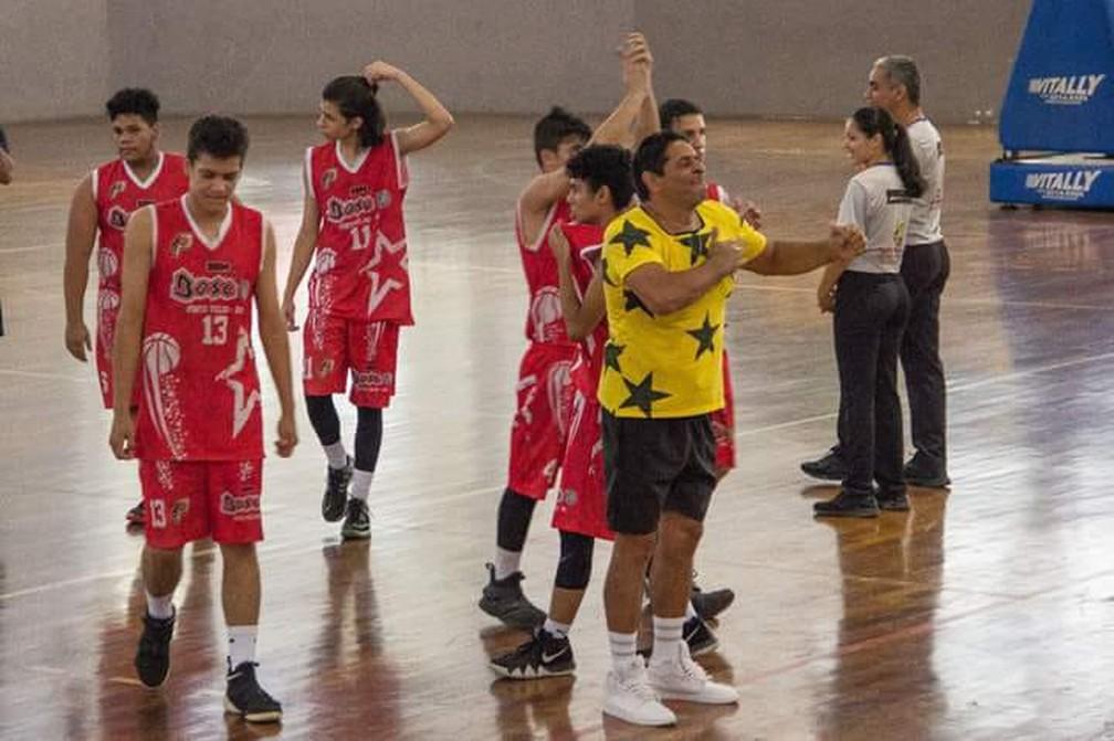 Morre técnico de basquete Pedrão Amorim.  (Foto: Arquivo pessoal)