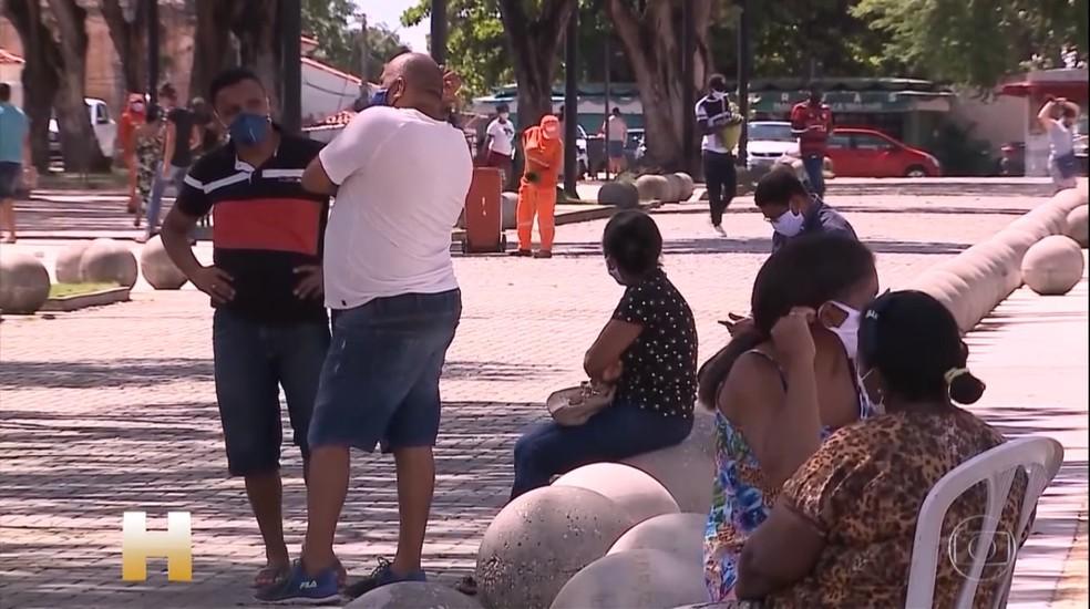 Casos de Covid-19 na Ilha de São Luís ainda não estão sobre controle, segundo pesquisadores — Foto: Reprodução/TV Globo