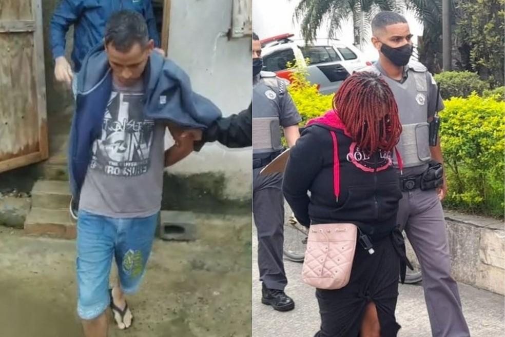 Padrasto de menina de 11 anos foi preso por participação em tortura nesta terça-feira (19). Mãe foi presa pela morte em agosto — Foto: Reprodução