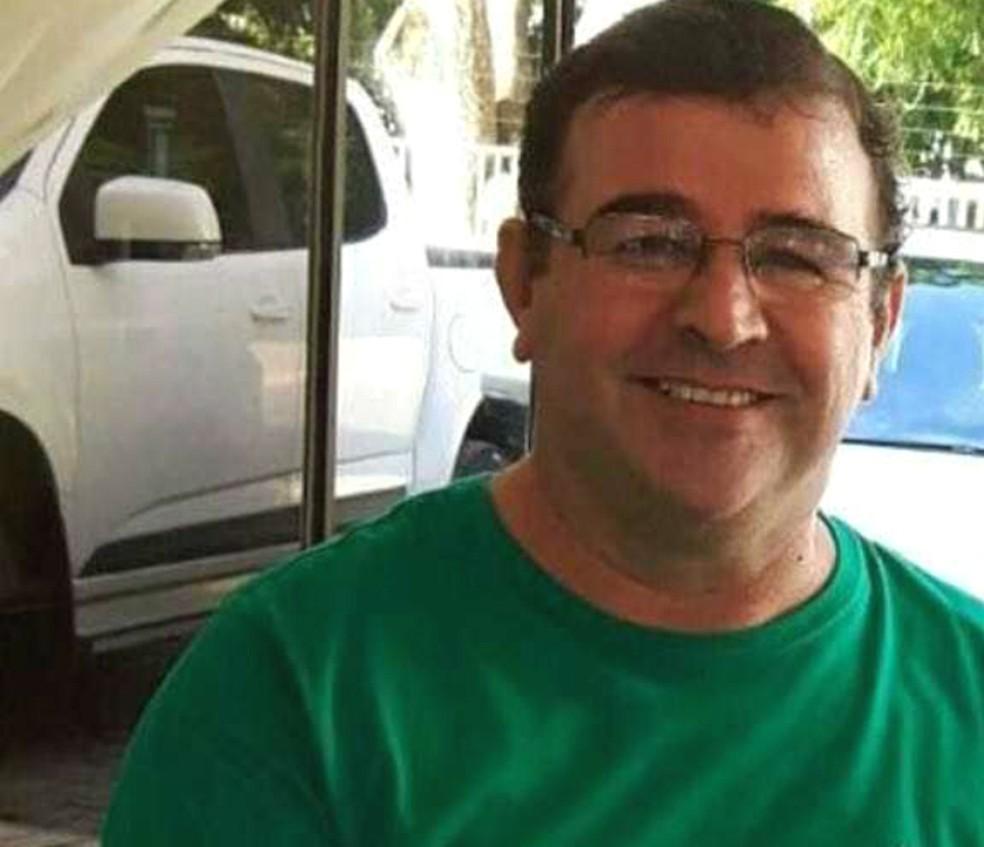 Empresário de 48 anos sofreu grave crise alérgica (Foto: Arquivo pessoal)