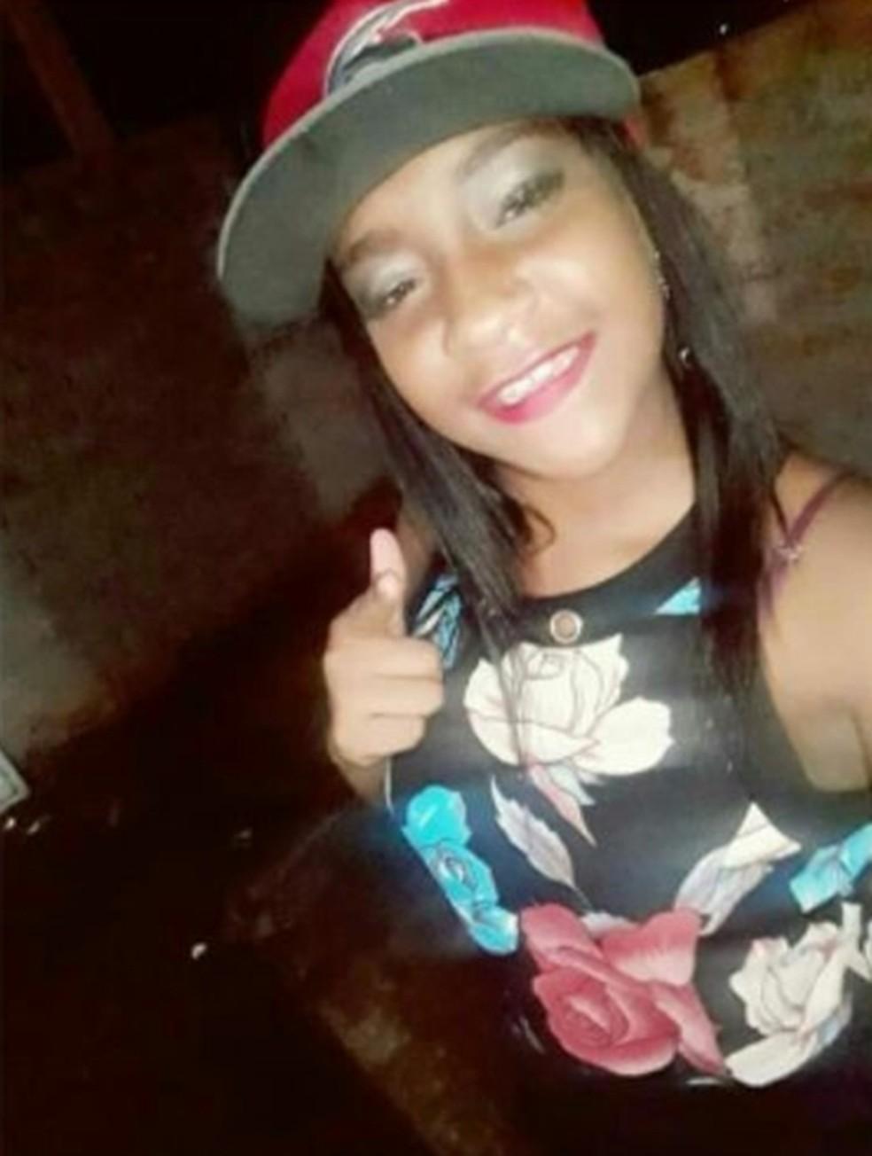 Camila Vitória foi uma das vítimas de mortes violentas em 2018 em Campo Belo (MG) — Foto: Reprodução/EPTV
