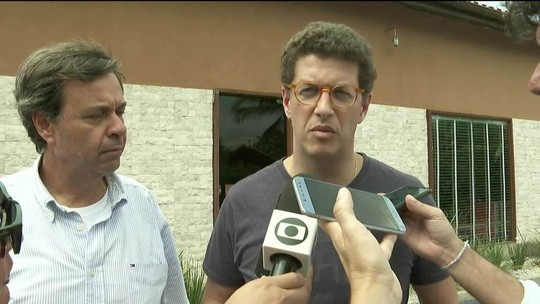 Ricardo Salles, ministro do Meio Ambiente, vai a Noronha