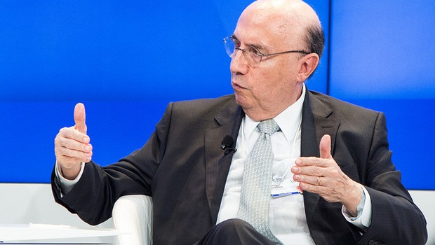 Henrique Meirelles, no Fórum Econômico Mundial, em Davos (Foto: World Economic Forum / Sikarin Thanachaiary)