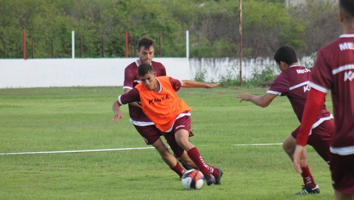 América-RN - Mayk Vanvan, lateral-esquerdo (Foto: Canindé Pereira/América FC/Divulgação)