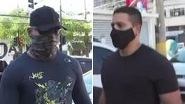 PMs: boné com o 'Hulk' motivou agressão a jovem (Reprodução de Vídeo)