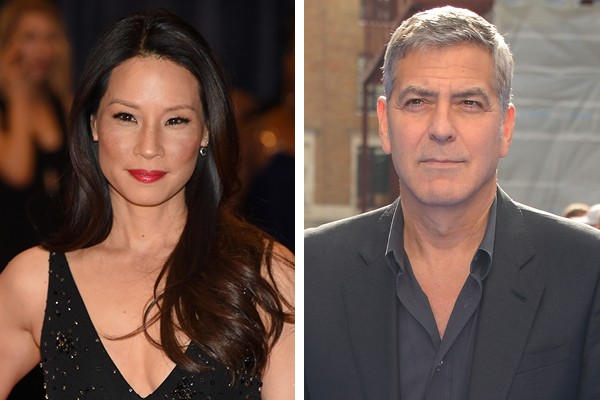 Lucy Liu e George Clooney (Foto: Getty Images)