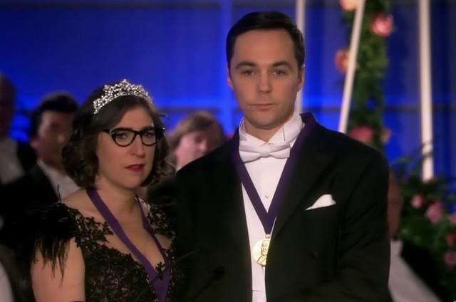 Cena do desfecho de 'The Big Bang Theory' (Foto: Reprodução)