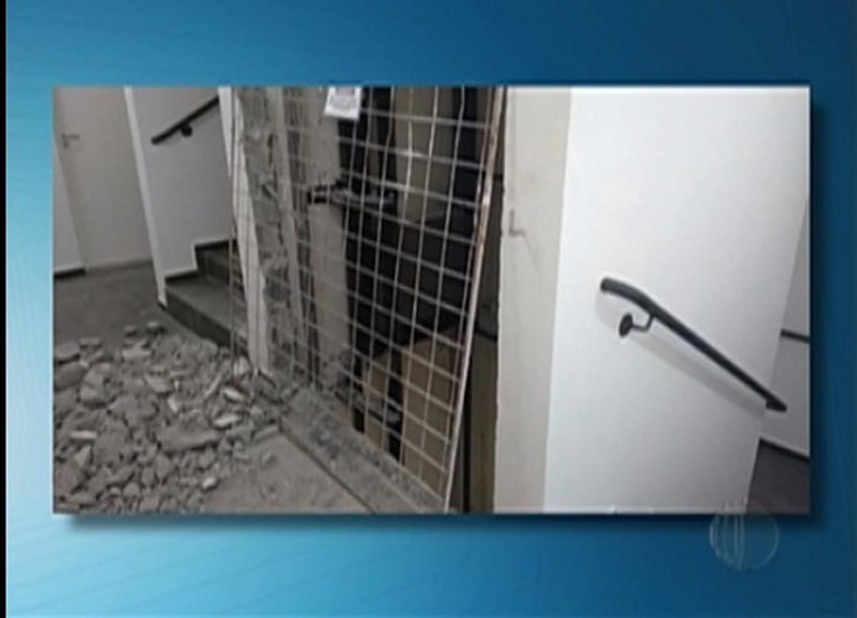 Moradores de Suzano reclamam de problemas estruturais em condomínio