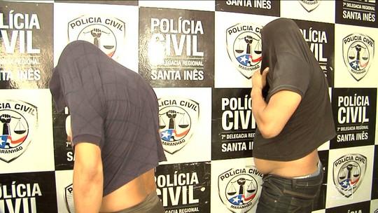 Quatro pessoas são presas por arrombamento em clínica em Santa Inês