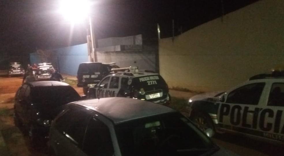 Chácara está localizada no Bairro Campo Alegre, em Juazeiro do Norte. — Foto: Polícia Militar/Divulgação