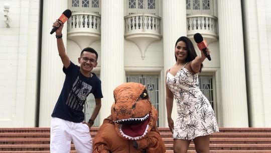 'Zapp' tem DinoAcre, culinária amapaense e trava-línguas; veja