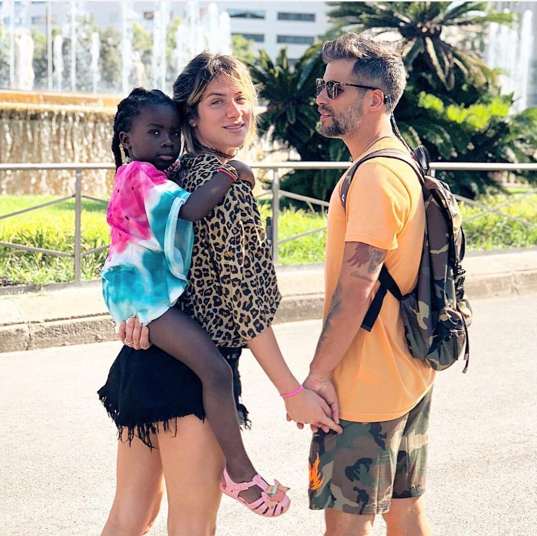 Giovanna Ewbank, Bruno Gagliasso e Titi Gagliasso (Foto: Reprodução / Instagram)