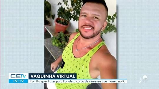 Família faz vaquinha virtual para trazer corpo de cearense que morreu no Rio de Janeiro