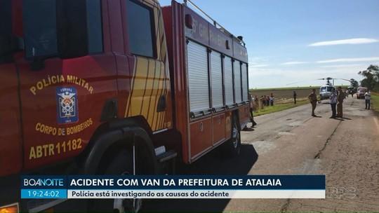 Motorista de van que levava time de futebol e se envolveu em acidente não tinha CNH para conduzir o veículo, diz PRE