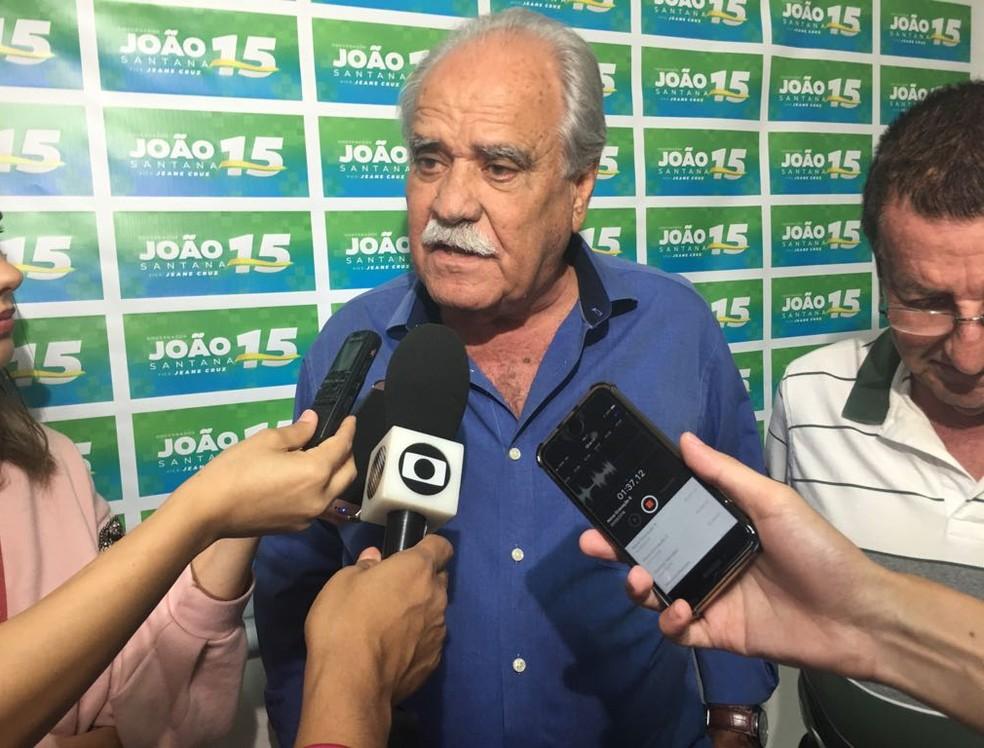 MDB confirma João Santana como candidato ao governo da Bahia (Foto: Alan Tiago Alves)